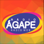 Logo da emissora Rádio Ágape