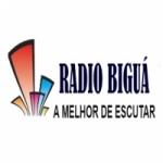 Logo da emissora Rádio Biguá