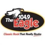 Logo da emissora WEGE 104.9 FM
