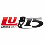 Logo da emissora Radio LU15 Viedma 800 AM