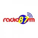 Logo da emissora Rádio Terra 87.9 FM