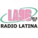 Logo da emissora Radio LA 96 95.5 FM