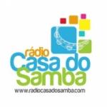 Logo da emissora Rádio Casa do Samba