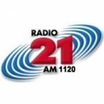 Logo da emissora Radio Veintiuno Tucuman 1120 AM