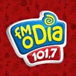 Logo da emissora Rádio FM O Dia 101.7 FM