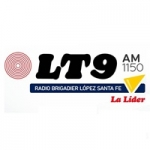 Logo da emissora Radio LT 9 Brigadier López 1150 AM