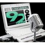 Logo da emissora Radio Cosmos 92.1 FM
