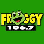 Logo da emissora WFGA 106.7 FM