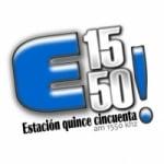 Logo da emissora Radio Estación Quince Cincuenta 1550 AM