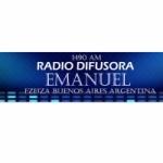 Logo da emissora Radio Difusora Emanuel 1490 AM