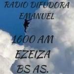 Logo da emissora Radio Difusora Emanuel 1600 AM