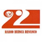 Logo da emissora Radio Huinca Renanco 1490 AM