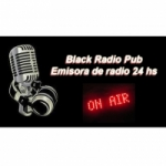 Logo da emissora Black Radio Pub On Line