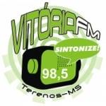 Logo da emissora Rádio Vitoria 98.5 FM