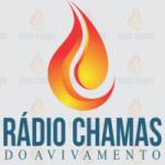 Logo da emissora Rádio Chamas do Avivamento