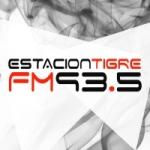 Logo da emissora Radio Estación Tigre 93.5 FM