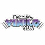 Logo da emissora Radio Estación Vinilo 89.1 FM