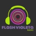 Logo da emissora Radio Flash Violeta