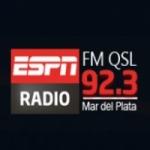 Logo da emissora Radio QSL 92.5 FM