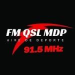 Logo da emissora Radio QSL 91.5 FM