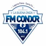 Logo da emissora Radio Condor 104.1 FM