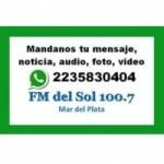 Logo da emissora Radio Del Sol 100.7 FM