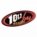 Logo da emissora Radio Desire 101.7 FM