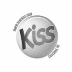 Logo da emissora Rádio Kiss Cascavel PR