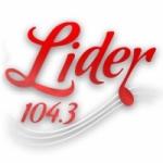 Logo da emissora Radio Lider 104.3 FM