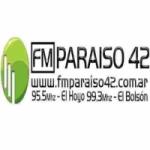 Logo da emissora Radio Paraiso 42 95.5 FM