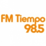 Logo da emissora Radio Tiempo 98.5 FM
