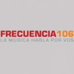 Logo da emissora Radio Frecuencia 106.5 FM