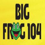 Logo da emissora WFRG 104.3 FM