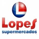 Logo da emissora Rádio Lopes Supermercados