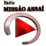 Logo da emissora Rádio Missão Assaí