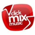 Logo da emissora Rádio Click Music Rock´n´Roll