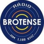 Logo da emissora Rádio Brotense de Porecatu 1180 AM