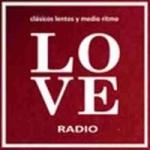 Logo da emissora Love Radio Rosario