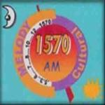 Logo da emissora Radio Melody 1570 AM