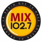 Logo da emissora Radio Mix 102.7 FM