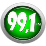 Logo da emissora Rádio Mater Dei 99.1 FM