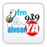 Logo da emissora Radio Alvear YA 93.9 FM