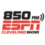 Logo da emissora WKNR 850 AM