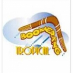 Logo da emissora Radio Boomerang Tropical