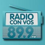 Logo da emissora Radio Con Vos 89.9 FM