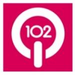 Logo da emissora WKRQ 102.9 FM