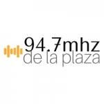 Logo da emissora Radio de la Plaza 94.7 FM