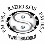 Logo da emissora Radio SOS 105.1 FM