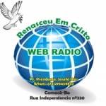 Logo da emissora Web Rádio Renasceu em Cristo
