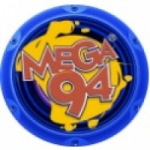 Logo da emissora Rádio Mega 94